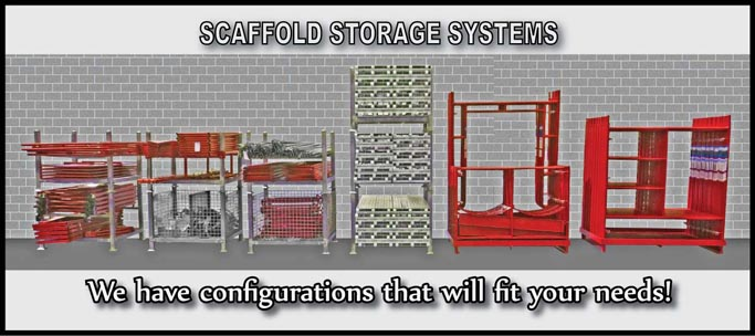 scaffold rack storage system